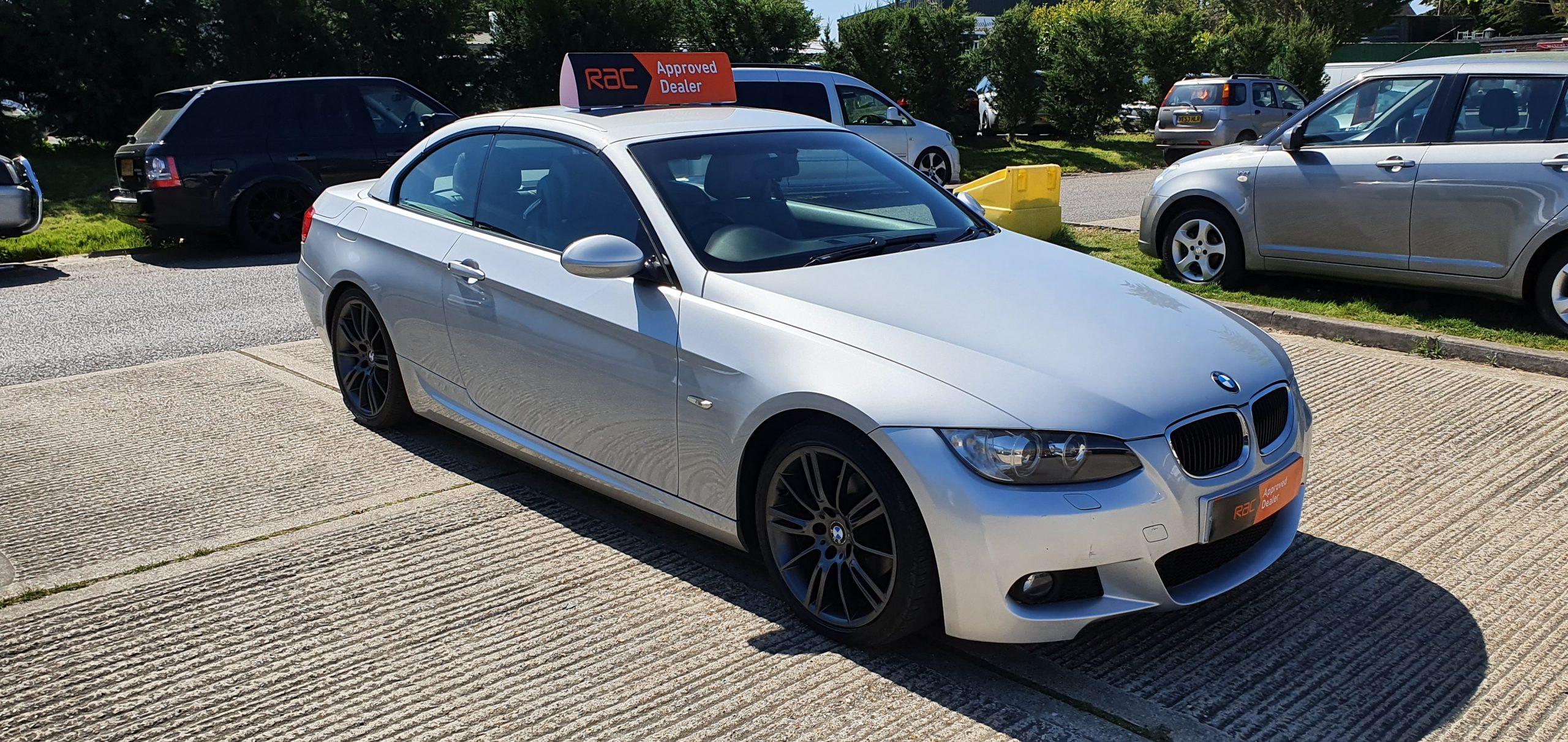 2009/09 BMW 320I M Sport Cabriolet, 2.0, petrol,  manual, 45500 miles, full service history, 2 keys, HPI clear